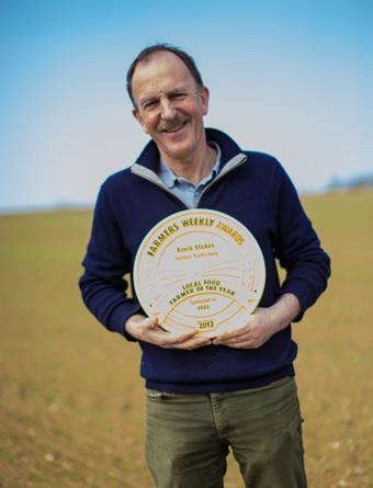 Kevin Stokes; Farmers Weekly Local Food Farmer of the Year 2012