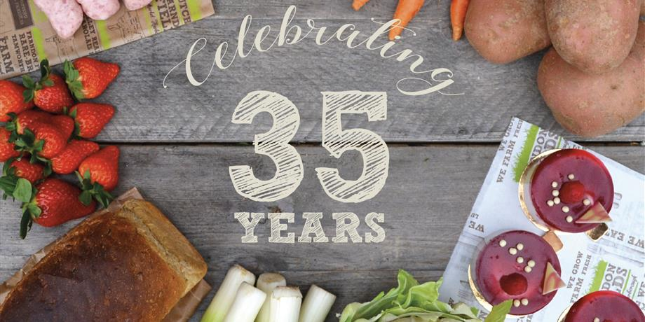 Farndon Fields, Market Harborough, celebrating 35 years