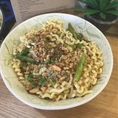 Recipe: Pasta with Griddled Asparagus and Lemon Breadcrumbs