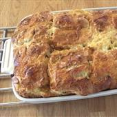 Recipe: Hot Cross Bun Bread and Butter Pudding