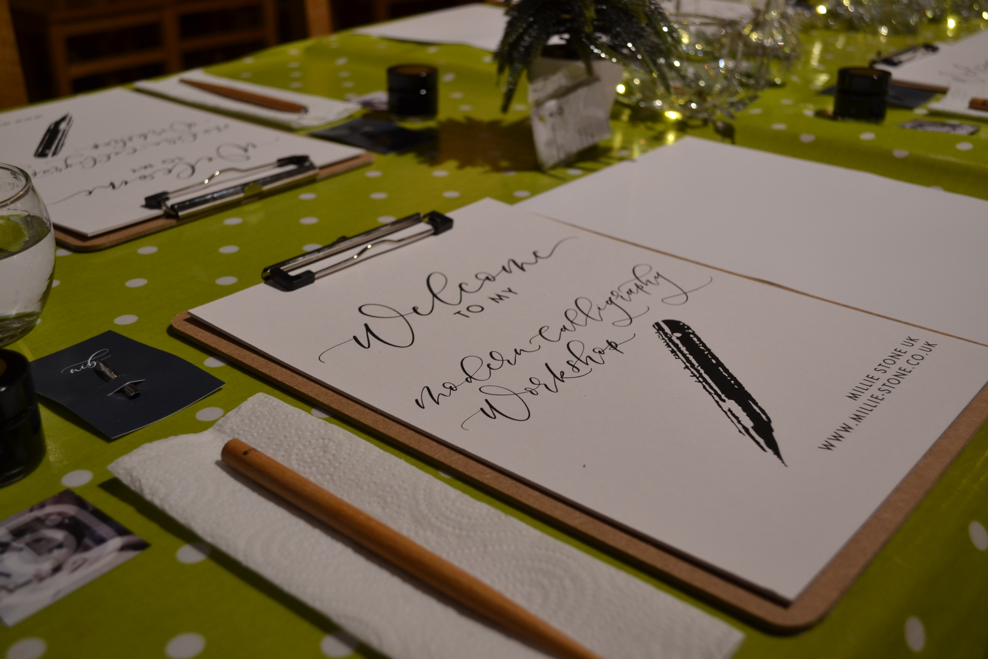 Calligraphy Workshop with Millie Stone