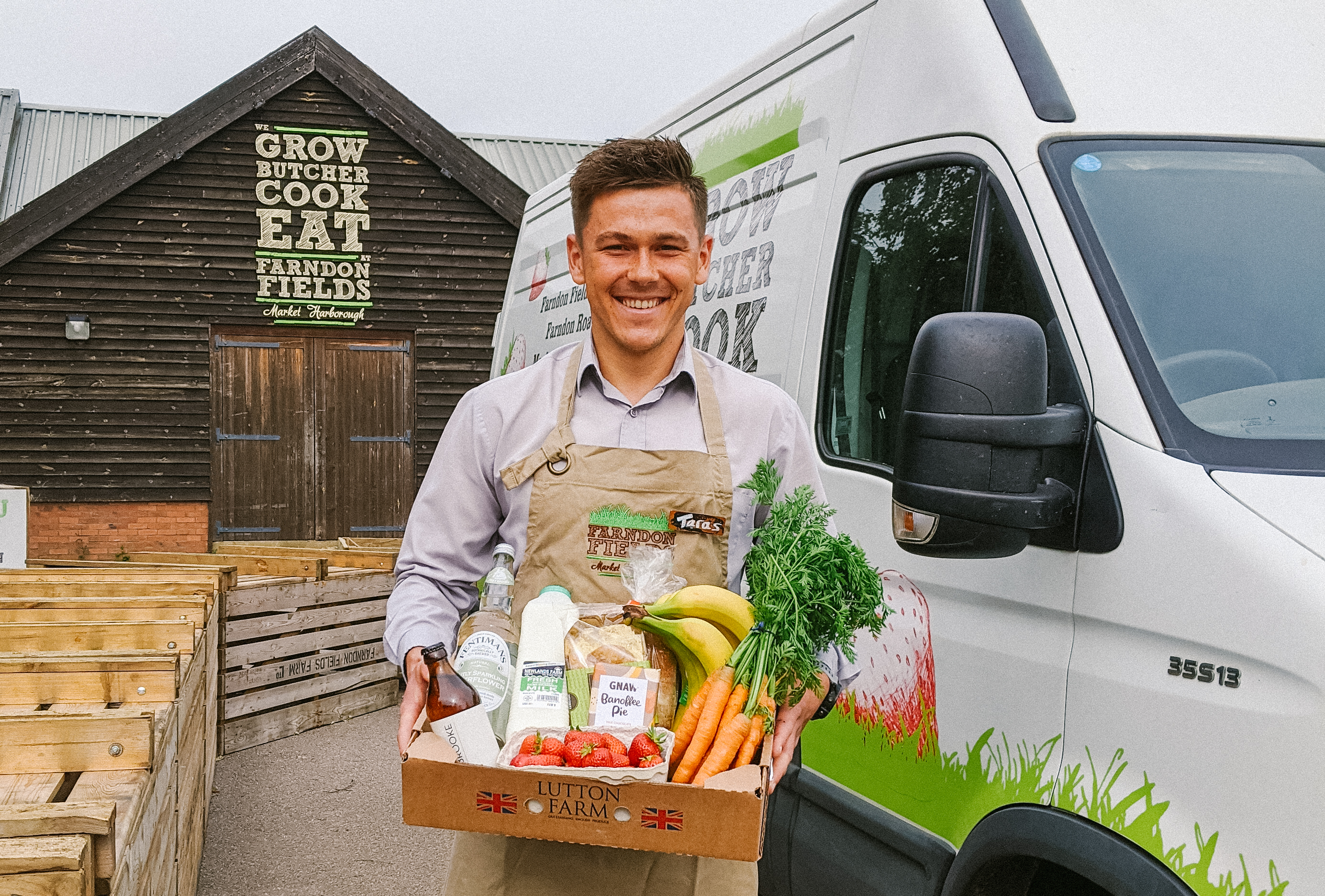 Feeding Harborough: Our new home delivery service