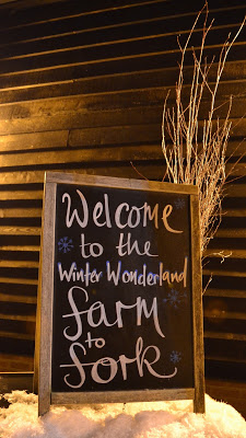 Winter Farm to Fork Dinner 2017