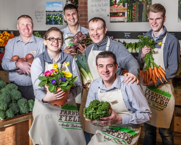 The farm shop team