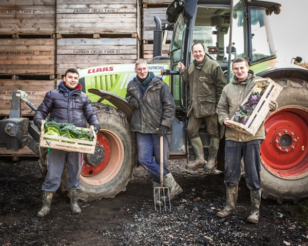 The Farndon Fields Farm team