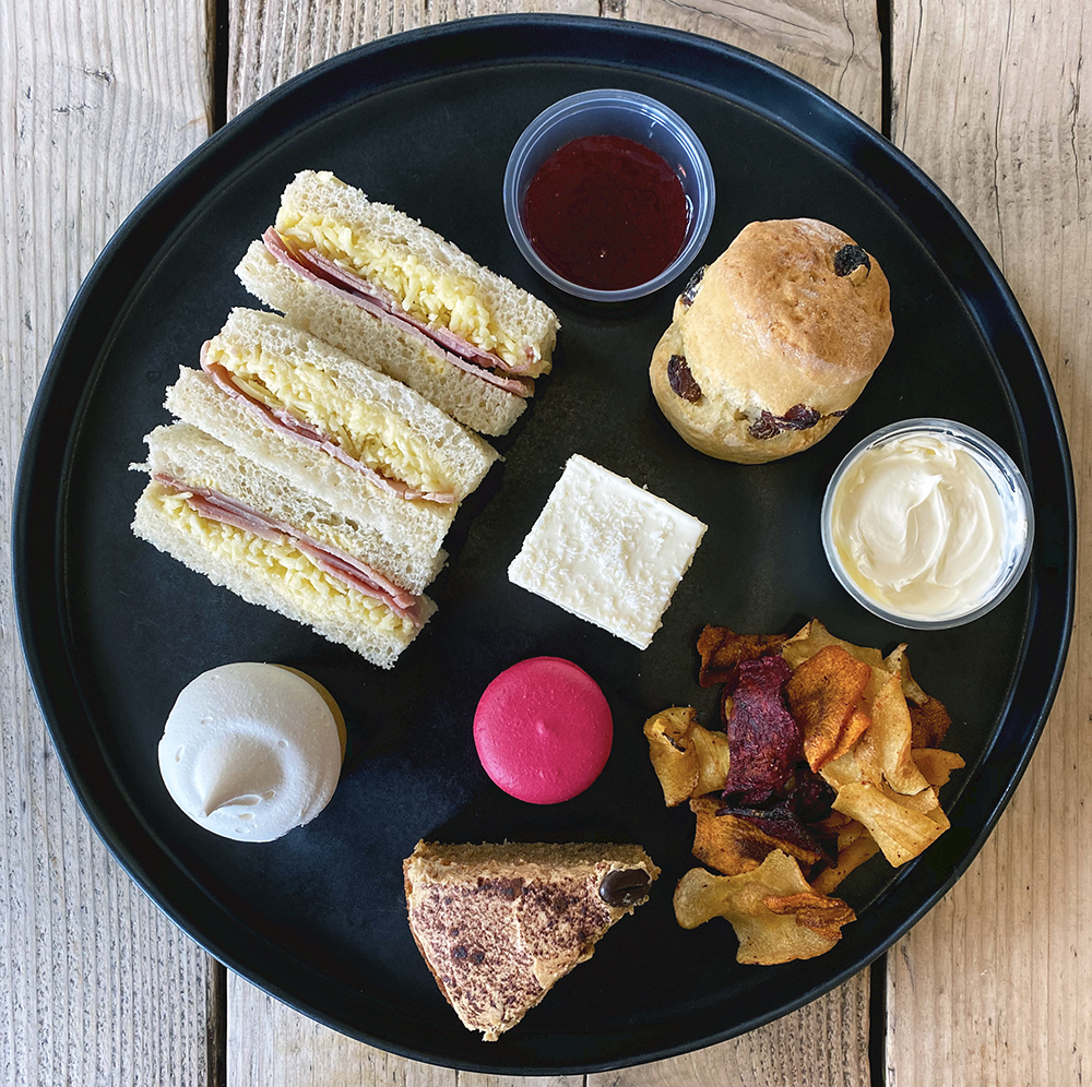 Gluten free takeaway afternoon tea