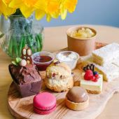 Easter afternoon tea, Farndon Fields