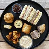 Savoury takeaway afternoon tea
