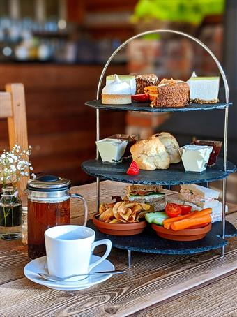 Afternoon tea at Farndon Fields, Market Harborough