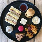 Sweet takeaway afternoon tea