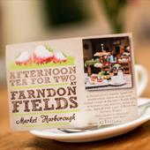 Afternoon Tea voucher at Farndon Fields